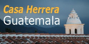 Casa Herrera, in Antigua, Guatemala