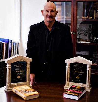 L. Michael White receives Hamilton Book Award