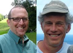 Professors Phillip Barrish and Evan Carton