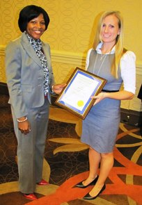 Kate C. Prickett Receives Two Paper Awards