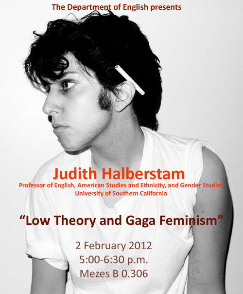 USC Professor Judith Halberstam gives lecture on February 2, 2012
