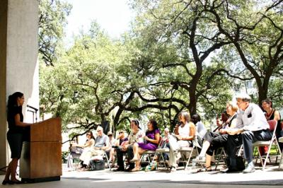 Poetry on the Plaza focuses on Translation