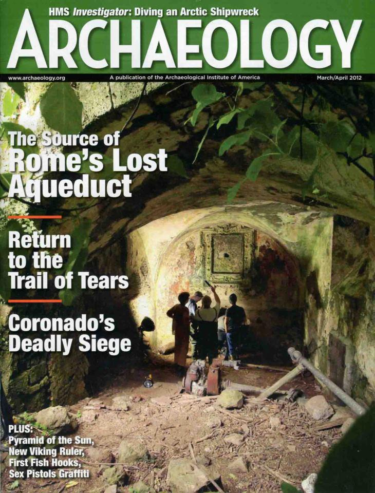 Ancient Aqueduct Rediscovered