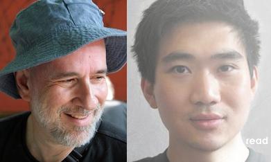 Professor John Slatin and Charles Chen