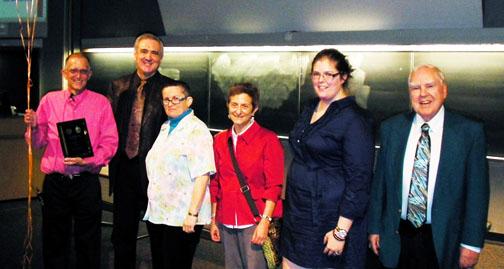 Professor Moore wins Language Teaching Excellence Award