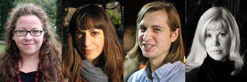 Fiona McFarlane, Carolina Ebeid, Corey Miller, and Corinne Greiner