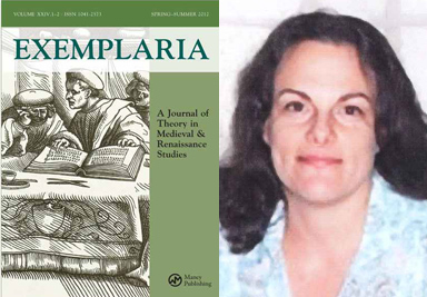 'Exemplaria' receives Phoenix Award for Significant Editorial Achievement