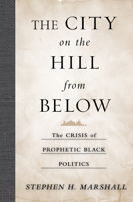 Dr. Stephen Marshall receives APSA 'Foundations of Political Theory Book Award' for 'The City on the Hill from Below'