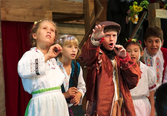 Camp Shakespeare featured in The Alcalde