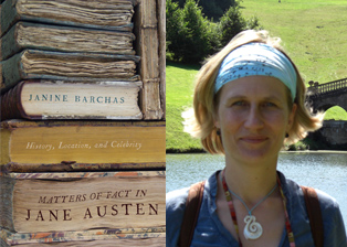Associate Professor Janine Barchas publishes 'Matters of Fact in Jane Austen: History, Location, and Celebrity'