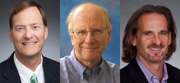 Adjunct Professor George Christian, Professor James Garrison, Professor Douglas Bruster