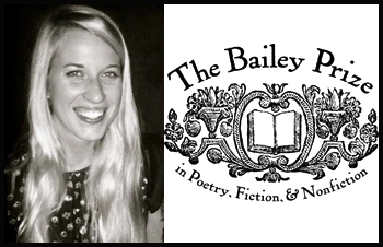 English Honors student Katherine Noble wins 2013 Bailey Prize for Poetry