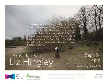 Photographer Liz Hingley's Work on Exhibit