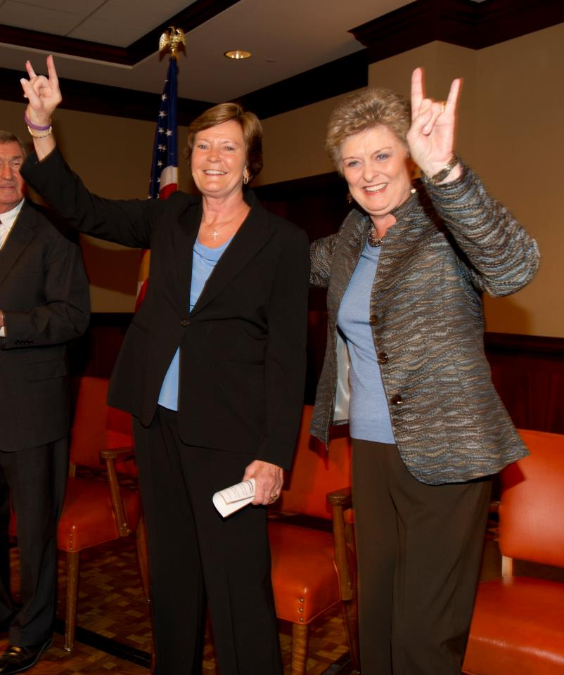 The University of Texas Unveils Statue to Honor Coach Conradt