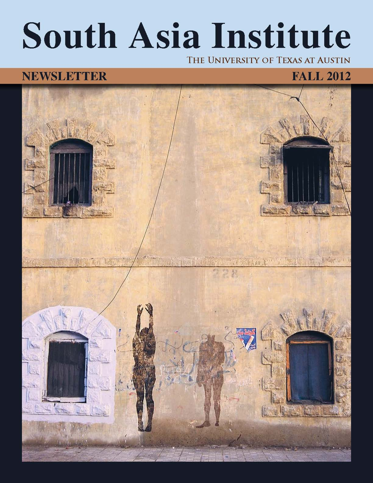 Fall 2012 South Asia Institute Newsletter Available for Download