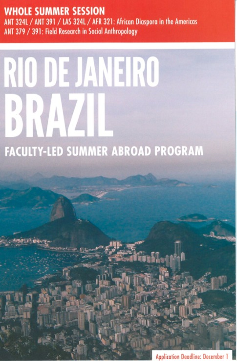 Study and work with an NGO in Rio de Janeiro, Brazil-Deadline December 1st
