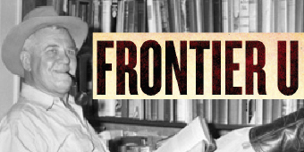 J. Frank Dobie in 1943 (Austin History Center/Austin Public Library)