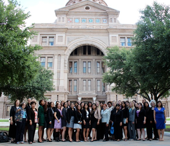 2012 NEW Leadership™ Texas participants at the Texas State Capitol