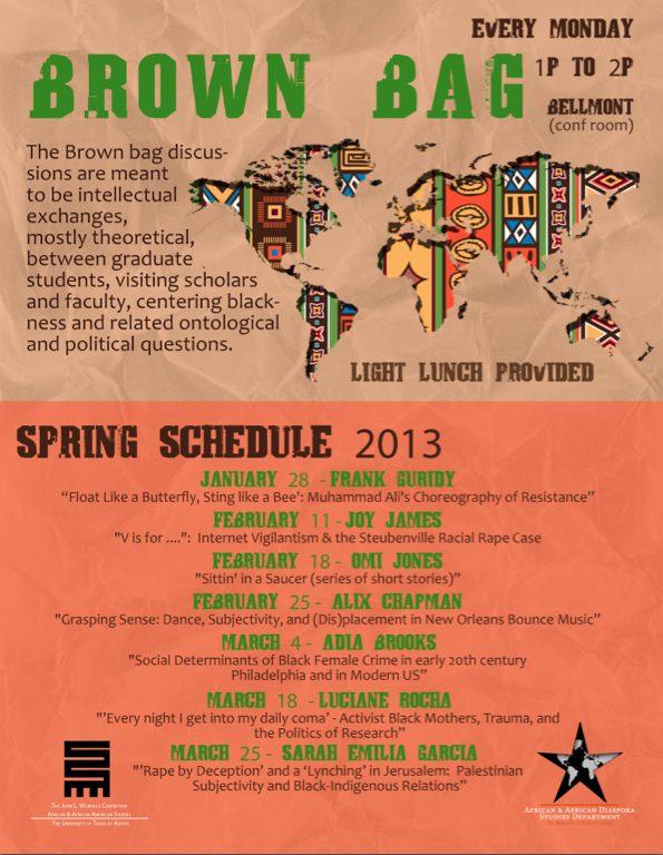Brown Bag Series-2013