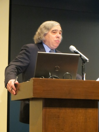 Watch Ernest Moniz, newly nominated U.S. Secretary of Energy, at the December CES Energy Conference