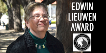 Ann Twinam awarded the Edwin Lieuwen Prize for Outstanding Teaching