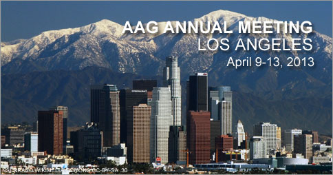 UT Faculty and Graduate Students Speak at AAG National Conference