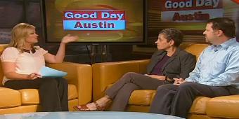 Prof. Joan Neuberger and Chris Rose on Good Day Austin