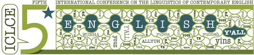 International Conference on the Linguistics of Contemporary English to be held at UT, Fall 2013