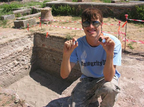 Classical Archaeology major Nathan Carmichael awarded Presidential Scholarship