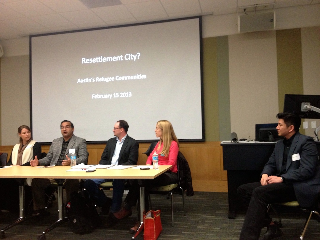 """""""Resettlement City? Austin's Refugee Communities,"""" a Community Forum"""