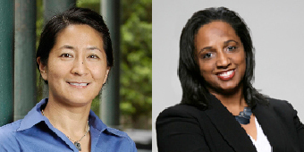 Professors Madeline Hsu and Daina Ramey Berry