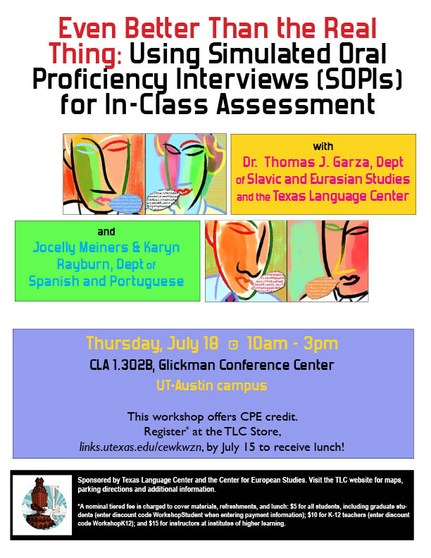 Even Better Than the Real Thing: Using Simulated Oral Proficiency Interviews (SOPIs) for In-Class Assessment