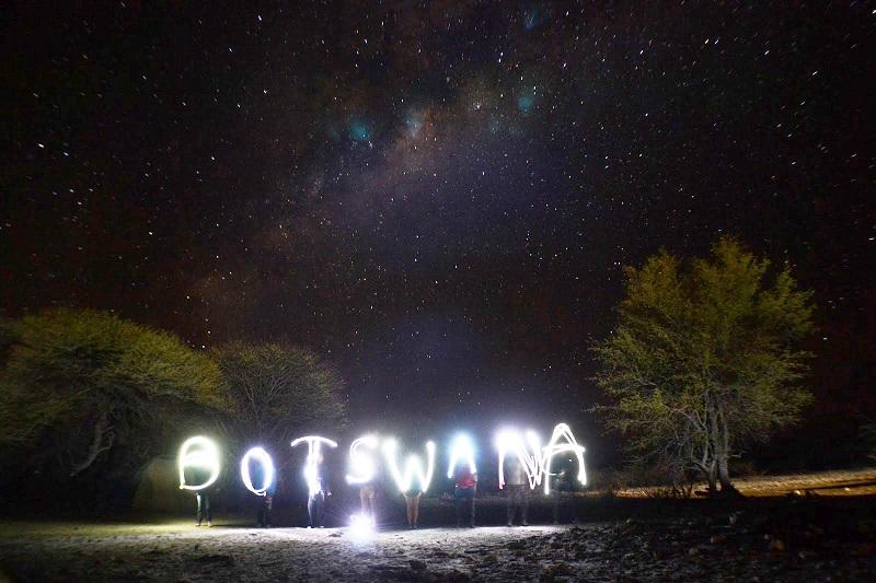 Night Lights: Photo by Marshall Nolen, UT Undergrad