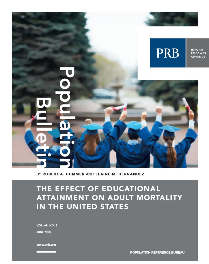 PRC Researchers Publish New Population Reference Bureau Bulletin on Educational Attainment and Mortality