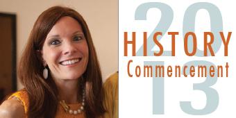 History commencement speaker Maidie Ryan