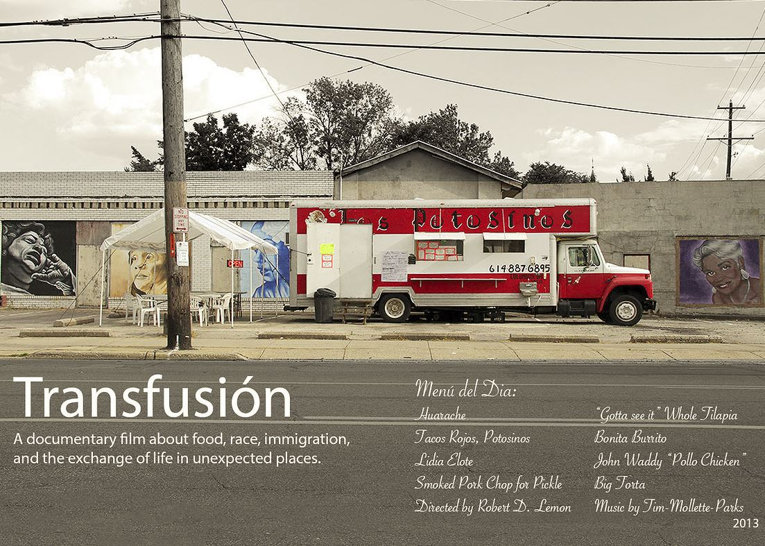 Poster from Transfusión, to be released in 2014