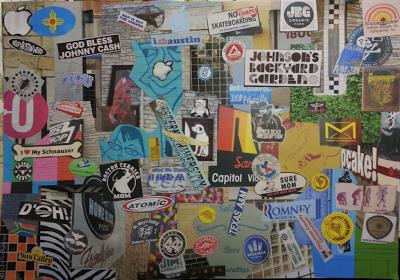 South Congress Collage by Cole McGarrahan