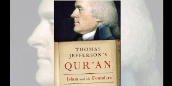 Graphic courtesy of The Daily Beast: Thomas Jefferson's Qu'ran: Islam and the Founders by Denise A. Spellberg