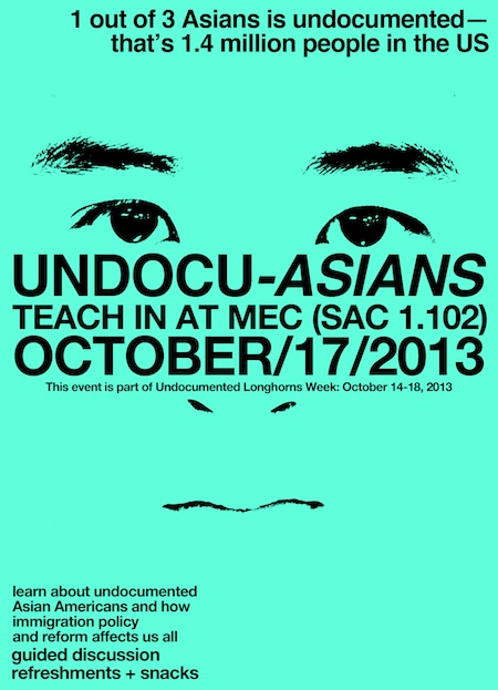 Undocu-Asian Teach-in
