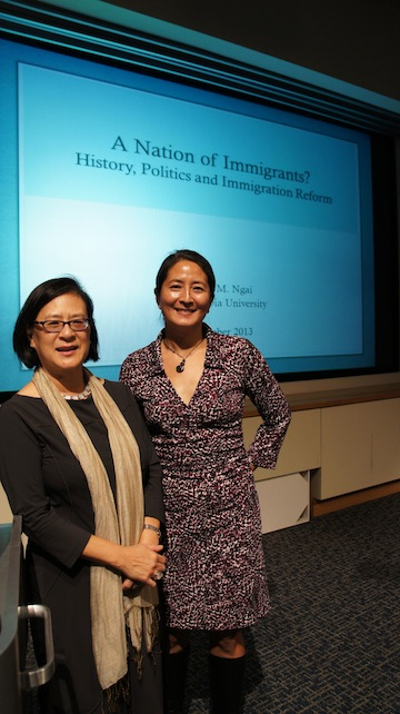 Drs. Mae Ngai and Madeline Hsu