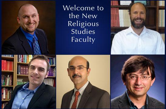 Top left to bottom right: Dr. Landau, Dr. Schofer, Dr. Smith, Dr. Moin and Dr. Harmansah