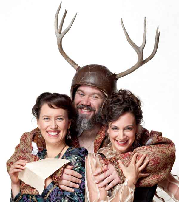 The American Shakespeare Center brings Falstaff to UT Campus