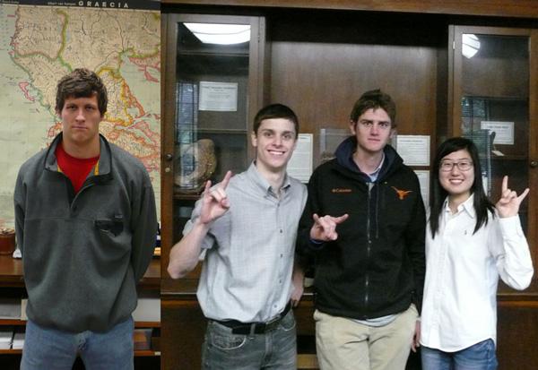 Undergraduate Students Inducted Into Phi Beta Kappa