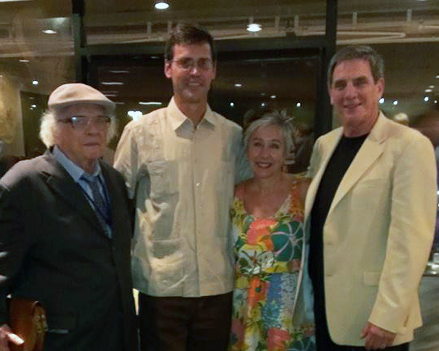Prof. Doolittle (R) with his wife, Shannon Bieberdorf, Christian Brannstrom, CLAG Chair, and Prof. Pedro Geiger (L) of Brazil, the 2013 awardee.