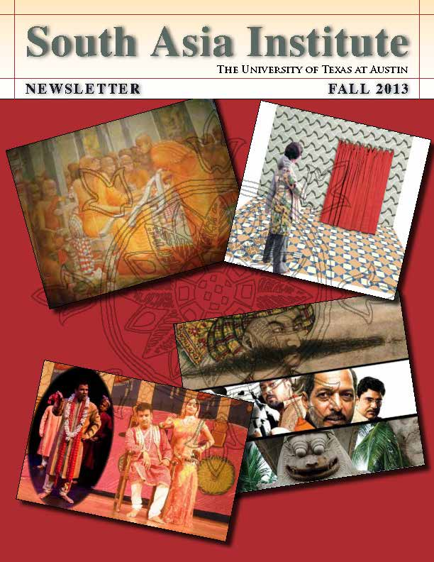 Fall 2013 South Asia Institute Newsletter Available for Download