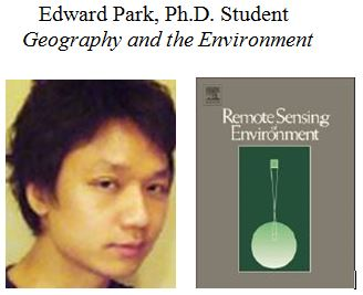 Graduate Student Published in Top Remote Sensing Journal
