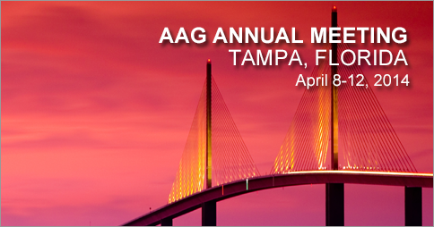 Faculty and Students Represent UT at the AAG Annual Meeting