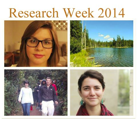Geography Majors Participate in Research Week 2014
