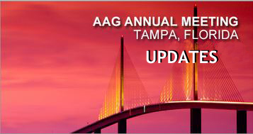 National Honors and News from the AAG Annual Meeting 2014