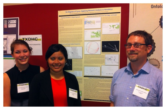 Poster Presentation From 1st Annual Texas Digital Humanities Consortium Conference